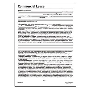 commercial real estate lease template. Black Bedroom Furniture Sets. Home Design Ideas